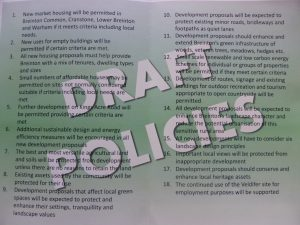 Neighbourhood Plan Draft Policies