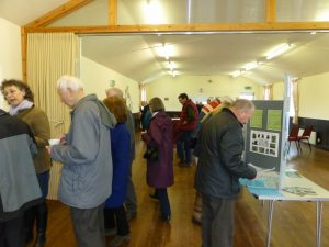 Visitors to the Neighbourhood Plan Exhibition