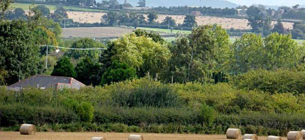 West Herefordshire landscape viewed from Breinton