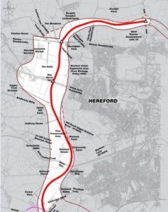 Hereford Bypass Red Route